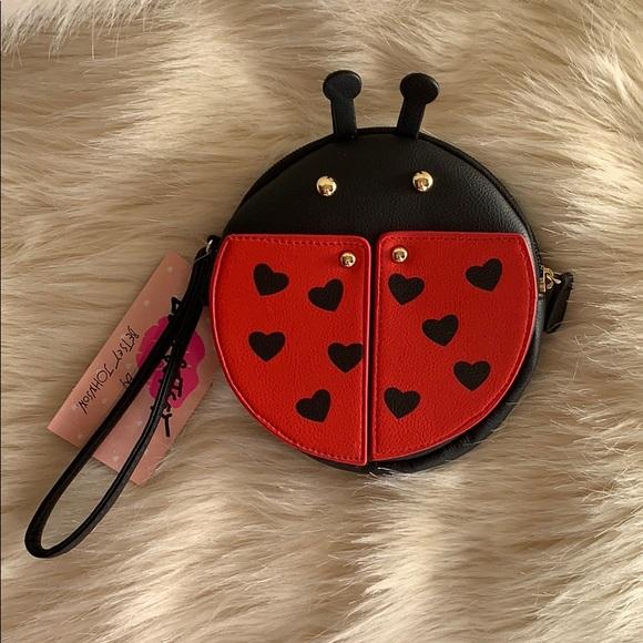 Betsey Johnson Handbags - Luv Betsey/Betsey Johnson Ladybug Purse NWT